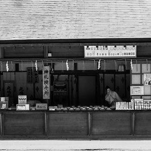 鹿島神宮の売店