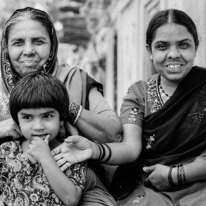 Three-generation women
