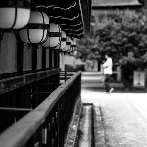 lanterns in Kitano tenman-Gu