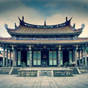 Deserted Confucian temple