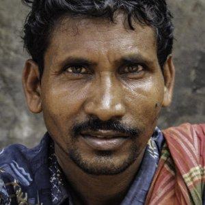 労働者の顔