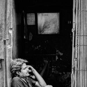 Man making a phone call