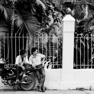 バイクと男たち