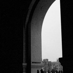 中正紀念堂の巨大な入口