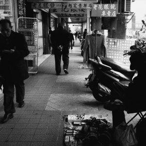 Drooping street vendor