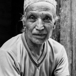 Man wearing Dhaka Topi