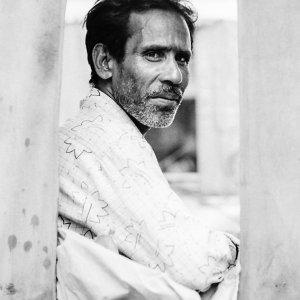 Genial rickshaw wallah