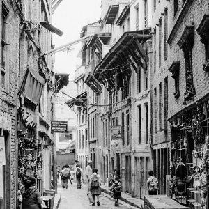 Narrow street of Bhaktapur