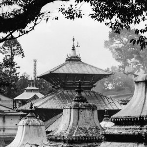 Roofs in Pashupatinath