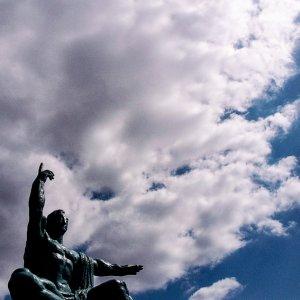 Peace Statue in Nagasaki