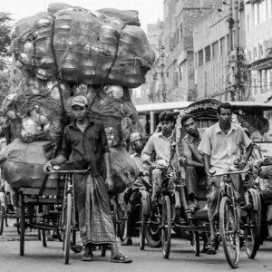 Incredible amount of tod on cycle rickshaw