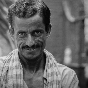 Evil grin of rickshaw wallah