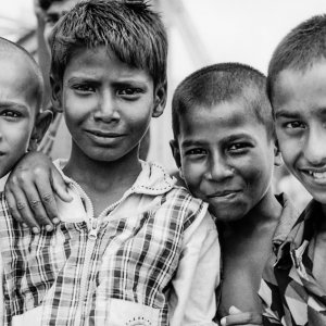 Boys playing in Sadarghat