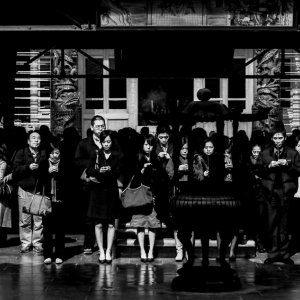 Worshipers in Hsing Tian Kong
