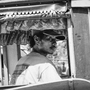 Coachman waiting for customers