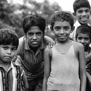 Benevolent gazes of children
