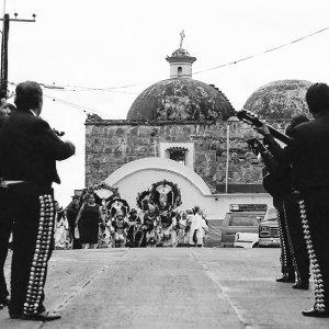 Mariachi and parade