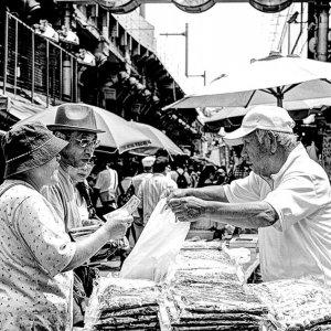Street vendor in Ameyoko