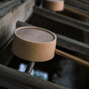Ladle in Shinto shrine