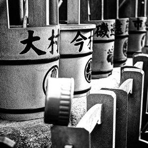 wooden pails
