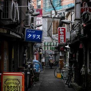 三軒茶屋の路地