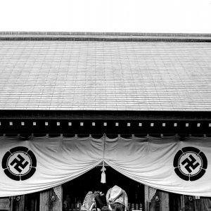 松陰神社の参拝客