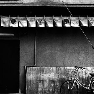 駐められていた自転車