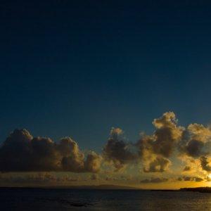 石垣島の夕陽