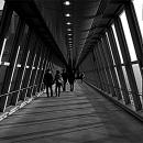 Figures Walking The Corridor @ Tokyo