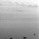 漁船のシルエット