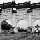 中正記念堂の門