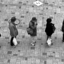5 Persons In A Queue @ Tokyo