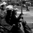 Two Women On A Motorbike @ Taiwan