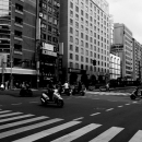 Taipei 101 At The End Of The Street