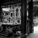 Man Kneeling Down In Baoan Temple