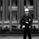 Soldier In Front Of Presidental Building