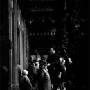Woman Kneeling In Longshan Temple @ Taiwan
