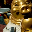 Golden Pig With A Proud Look @ Nagasaki