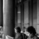 Women Reading In Hsing Tian Kong