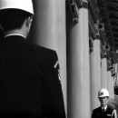 Guardsmen Stood Face To Face