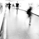 Figures In The Pedestrian Subway @ Tokyo