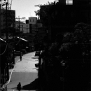Silhouette In The Street