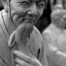 Cold Smile Of A Statue