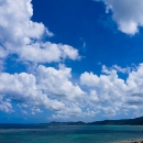 Clouds Above The Blue Ocean @ Okinawa
