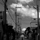 Straight Road In Koza