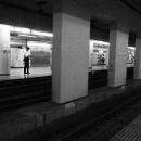 Platform Of Kudanshita Station @ Tokyo