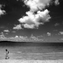 Woman Wading Ashore