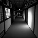 Corridor In Hiunkaku @ Kagawa