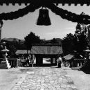 吉備津彦神社の境内