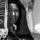 Hmong Woman Was A Street Vendor @ Laos